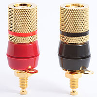 Heavy Duty Speaker Binding Post Sockets