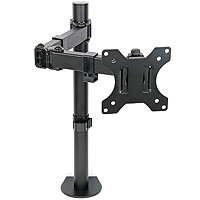 Monitor TV Desk Mount Arm Clamp Stand
