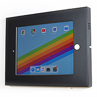 click4av TAW97L01B Black Secure Tablet Wall Mount for iPad 9.7 inch