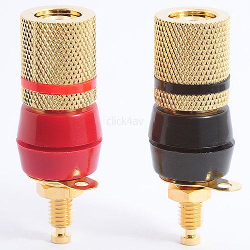 Binding Post - Speaker Socket & Banana Jack Connector