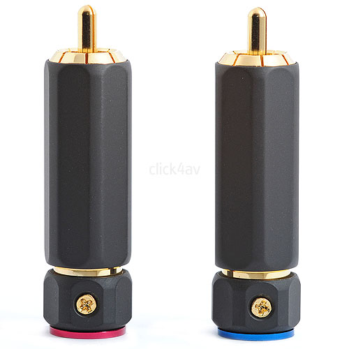 RCA Phono Plugs with Locking Connection