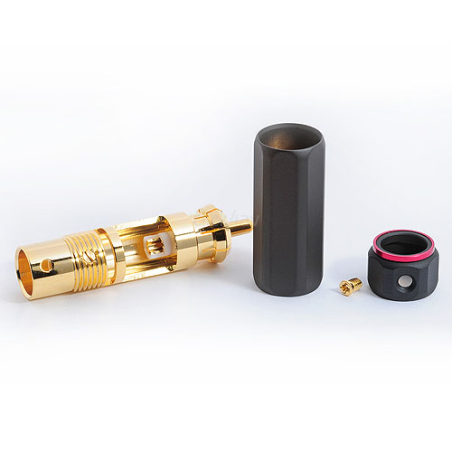 Gold Plated Locking RCA Phono Connectors
