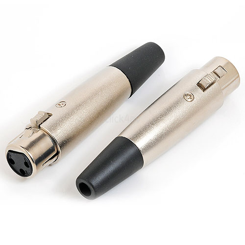 3 Pin Male XLR Plugs