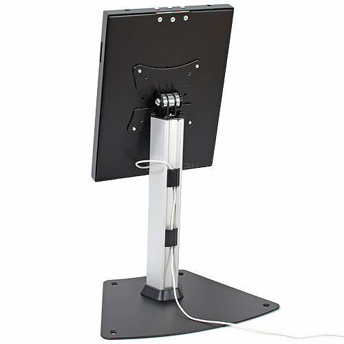 click4av TAD97L01B Black Anti Theft iPad Desk Mount Stand