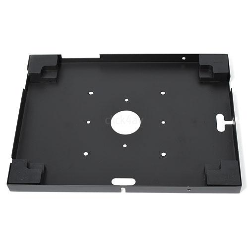 click4av TAW97L01B Black Secure Tablet Wall Mount for iPad 9.7 inch