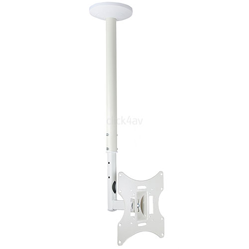 LCD-504AW White TV Ceiling Mount