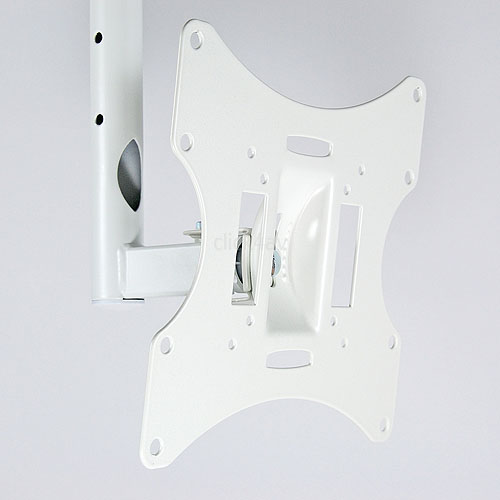 LCD-504AW White TV Ceiling Mount Bracket