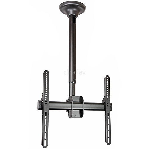 Strong Black TV Ceiling Mount Bracket
