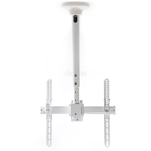Strong White TV Ceiling Mount Bracket
