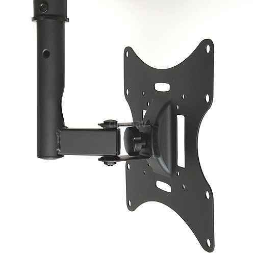 Black TV Ceiling Mount Bracket 23-43 inch TVC22A11B